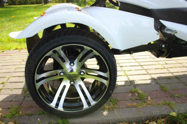Электротрицикл 1500