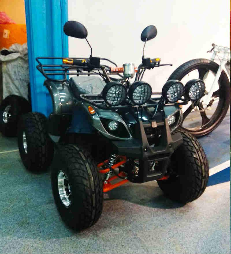 Электроквадроцикл 800D-40