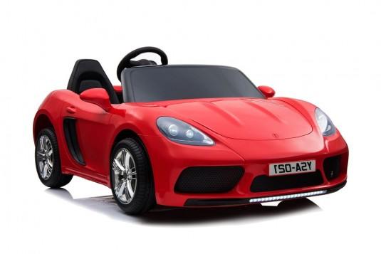 скоростной двухместный детский электромобиль