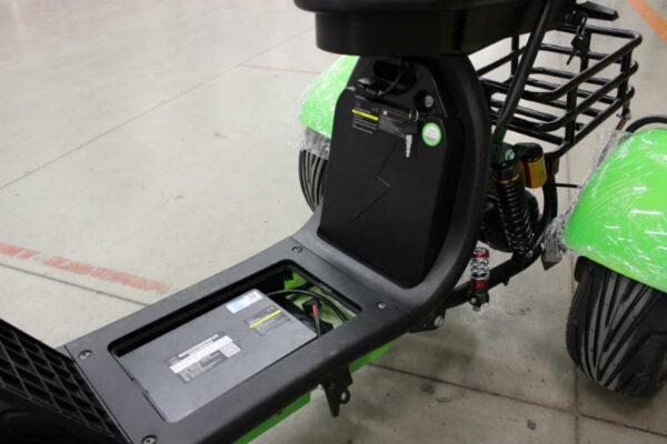 электротрицикл с 2 акб