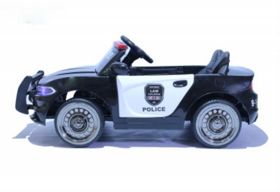полиция седан вид сбоку