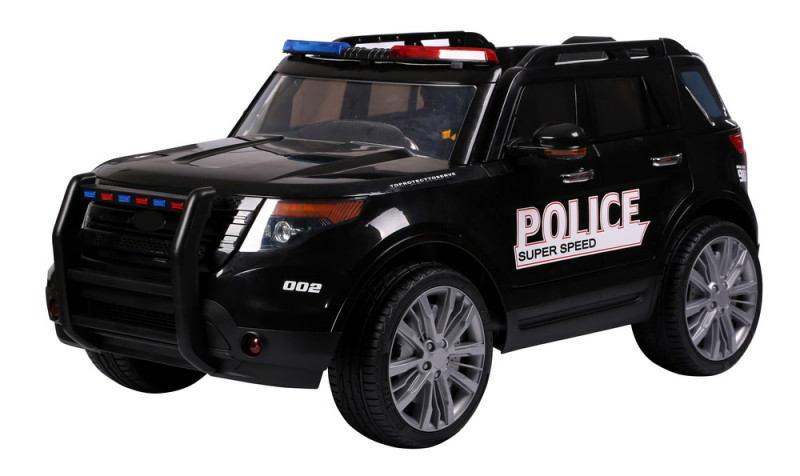 Детский электромобиль полиция джип