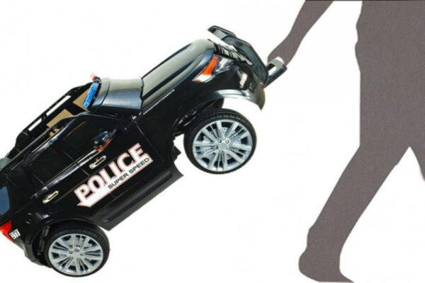 Детский электромобиль принцип-чемодана