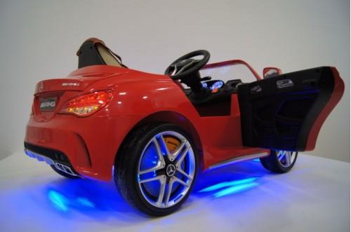 детский электромобиль, седан, с подсветкой