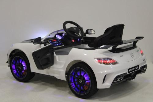 детский электромобиль, светодиоды, светятся колёса